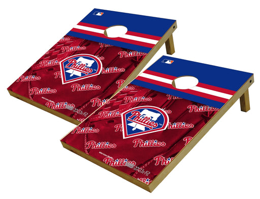 Philadelphia Phillies 2x3 Cornhole Board Set - Glove
