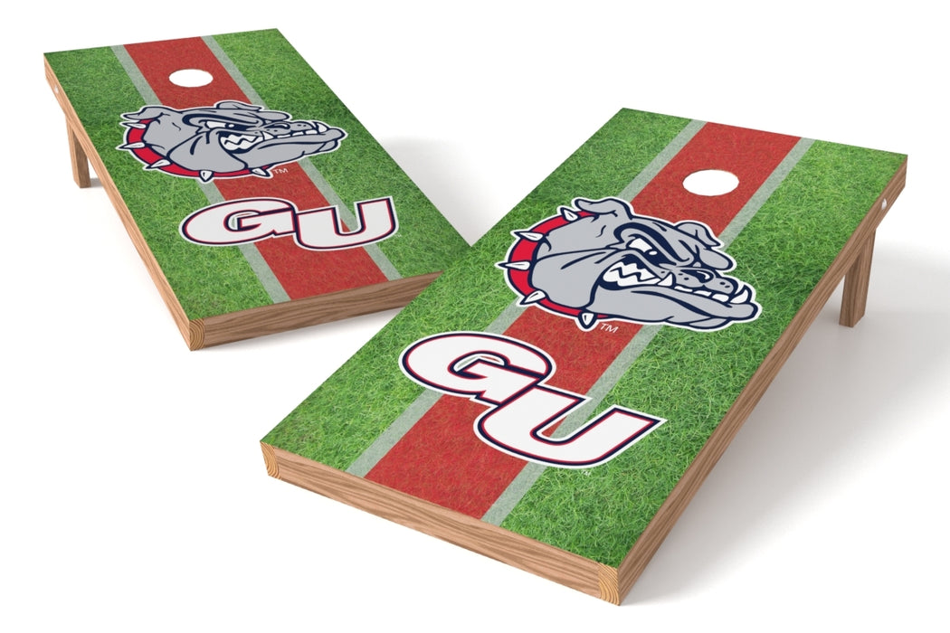 Gonzoga Bulldogs 2x4 Cornhole Board Set - Field