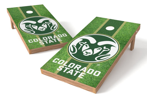 Colorado State Rams 2x4 Cornhole Board Set - Field