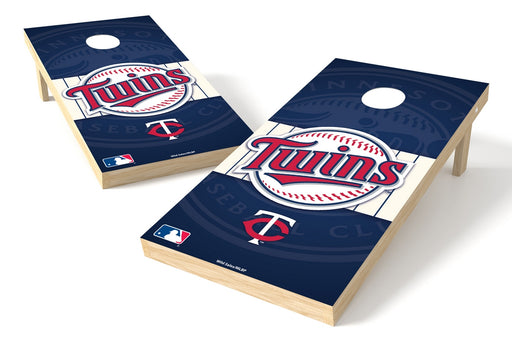 Minnesota Twins 2x4 Cornhole Board Set - Logo