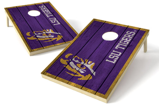 Louisiana State Tigers 2x3 Cornhole Board Set - Vintage