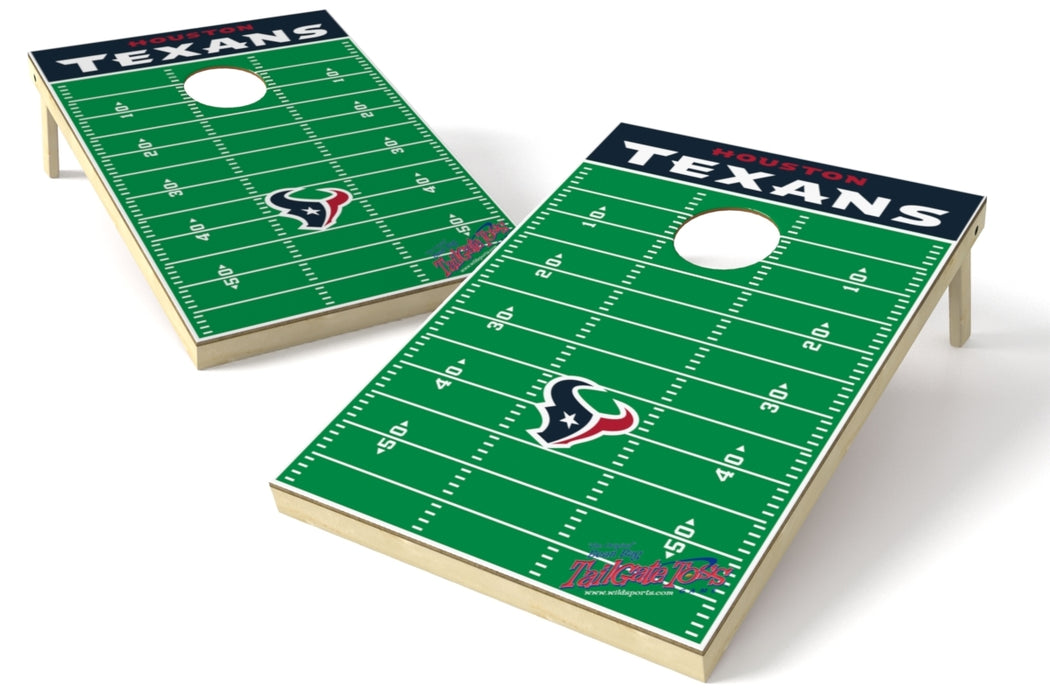 Houston Texans 2x3 Cornhole Board Set - Field