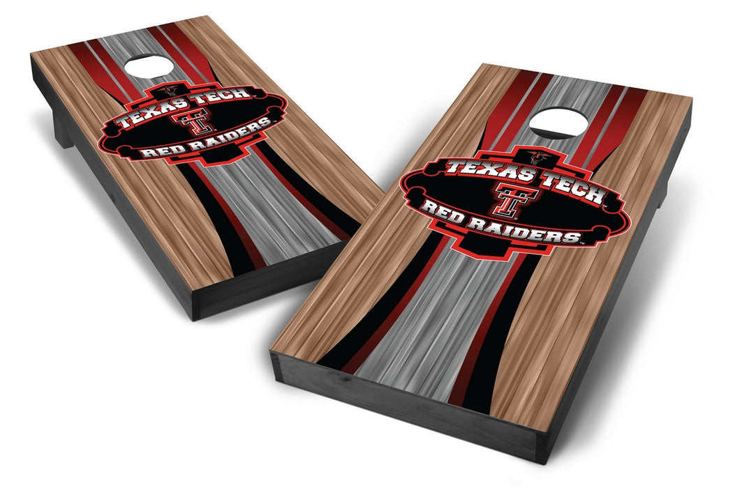 Texas Tech Red Raiders 2x4 Cornhole Board Set Onyx Stained - Wood