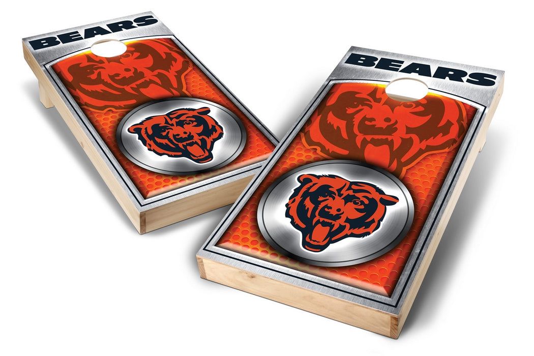 Chicago Bears 2x4 Cornhole Board Set - Medallion