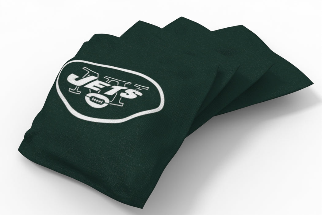 New York Jets 2x4 Cornhole Board Set - Hot