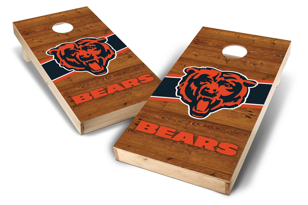 Chicago Bears 2x4 Cornhole Board Set - Logo