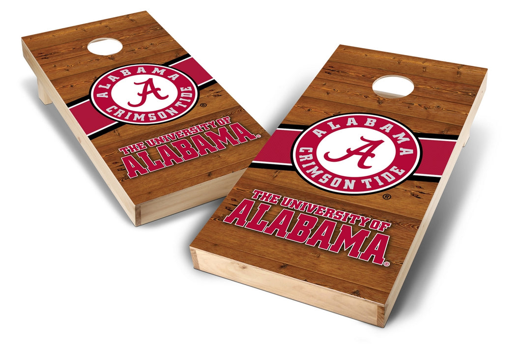 Alabama Crimson Tide 2x4 Cornhole Board Set - Logo