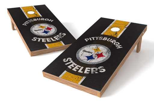 Pittsburgh Steelers 2x4 Cornhole Board Set - Heritage