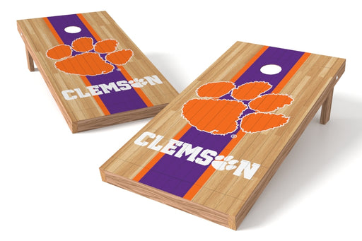 Clemson Tigers 2x4 Cornhole Board Set - Wood