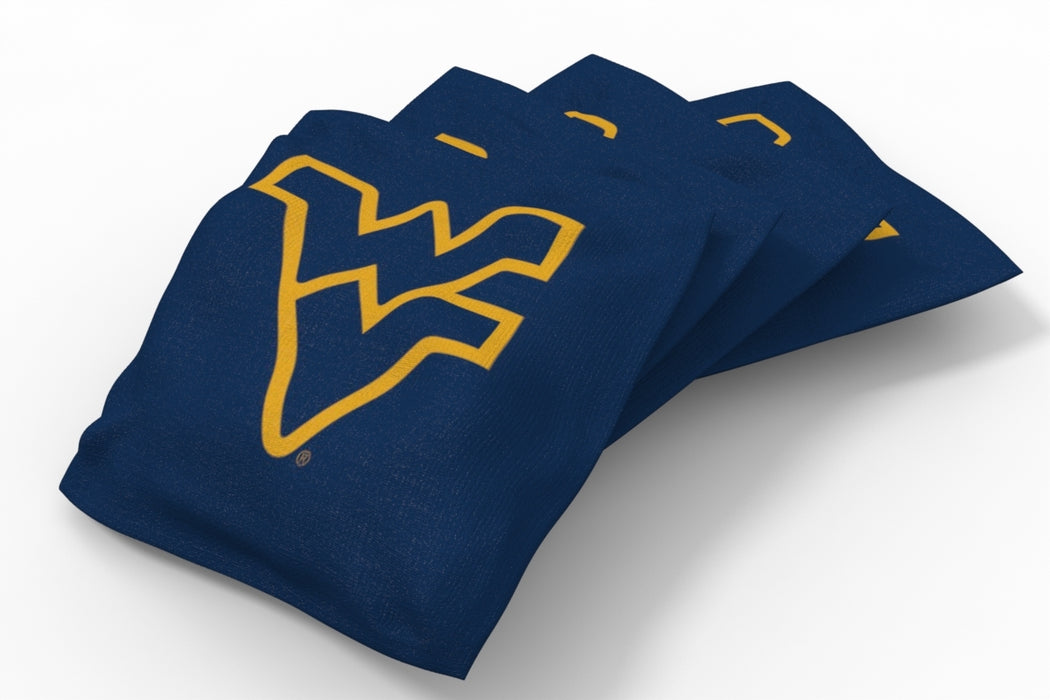 WVU Mountaineers 2x4 Cornhole Board Set - Wild