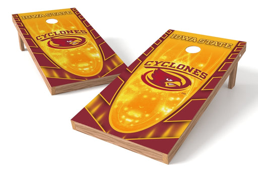 Iowa State Cyclones 2x4 Cornhole Board Set - Hot