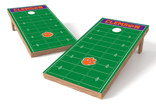 Clemson Tigers 2x4 Cornhole Board Set - Field