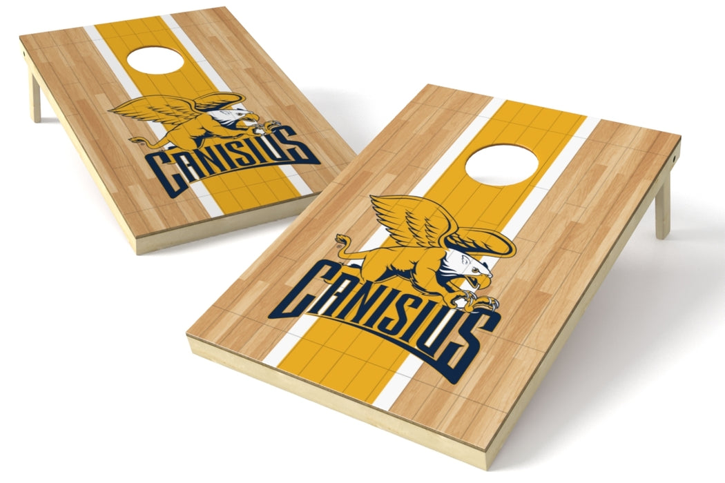 Canisius College 2x3 Cornhole Board Set - Hardwood