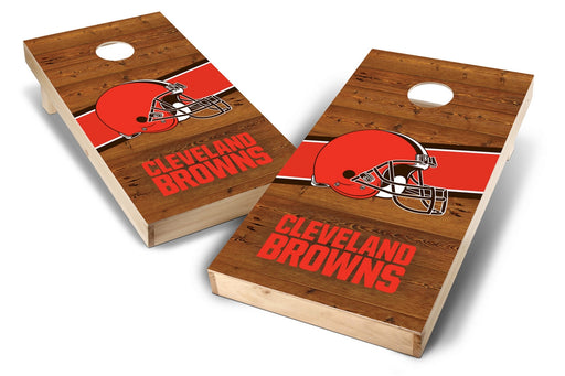 Cleveland Browns 2x4 Cornhole Board Set - Logo