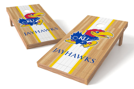 Kansas Jayhawks 2x4 Cornhole Board Set - Wood