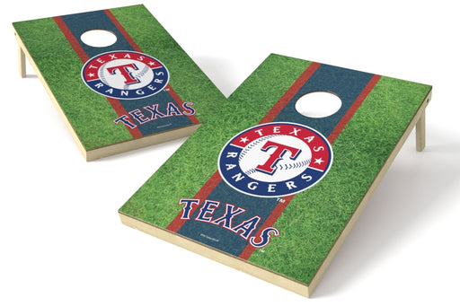 Texas Rangers 2x3 Cornhole Board Set - Field