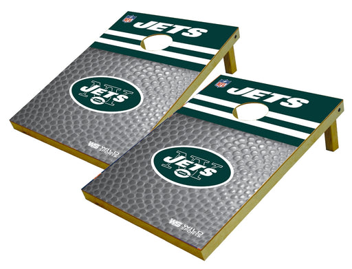 New York Jets 2x3 Cornhole Board Set - Pigskin