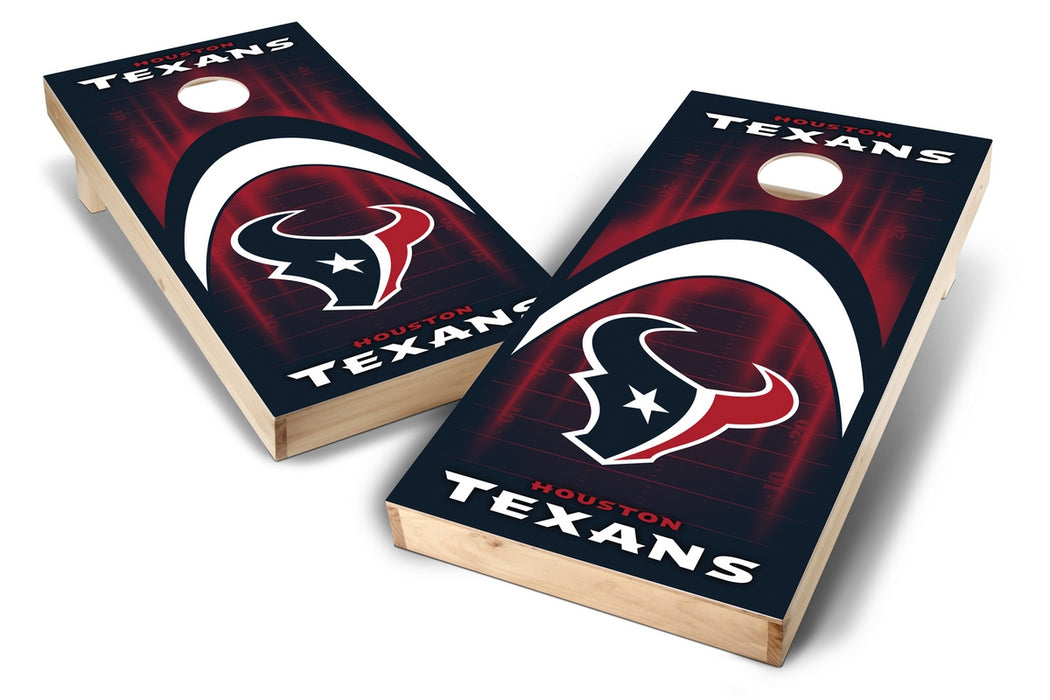 Houston Texans 2x4 Cornhole Board Set - Arch