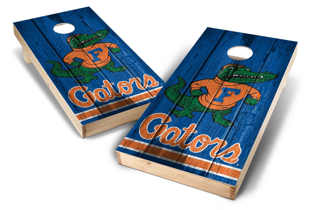 Florida Gators 2x4 Cornhole Board Set - Vintage