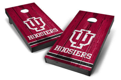 Indiana Hoosiers 2x4 Cornhole Board Set Onyx Stained - Vintage