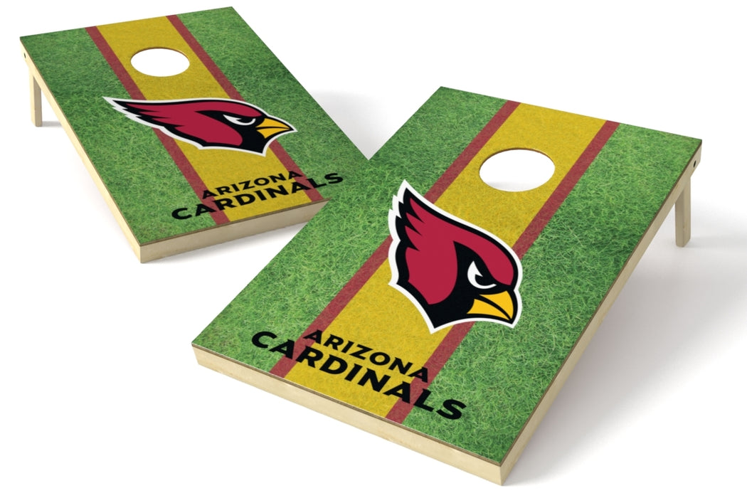 Arizona Cardinals 2x3 Cornhole Board Set - Field