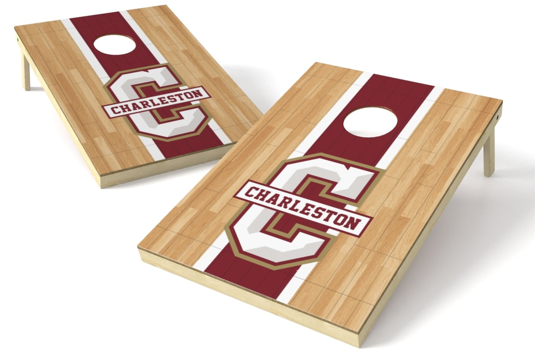 College of Charleston 2x3 Cornhole Board Set - Hardwood