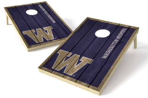 Washington Huskies 2x3 Cornhole Board Set - Vintage