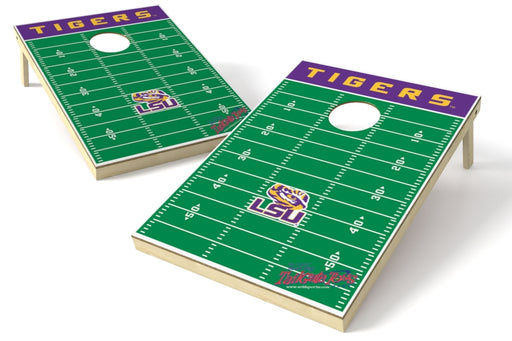 Louisiana State Tigers 2x3 Cornhole Board Set - Field