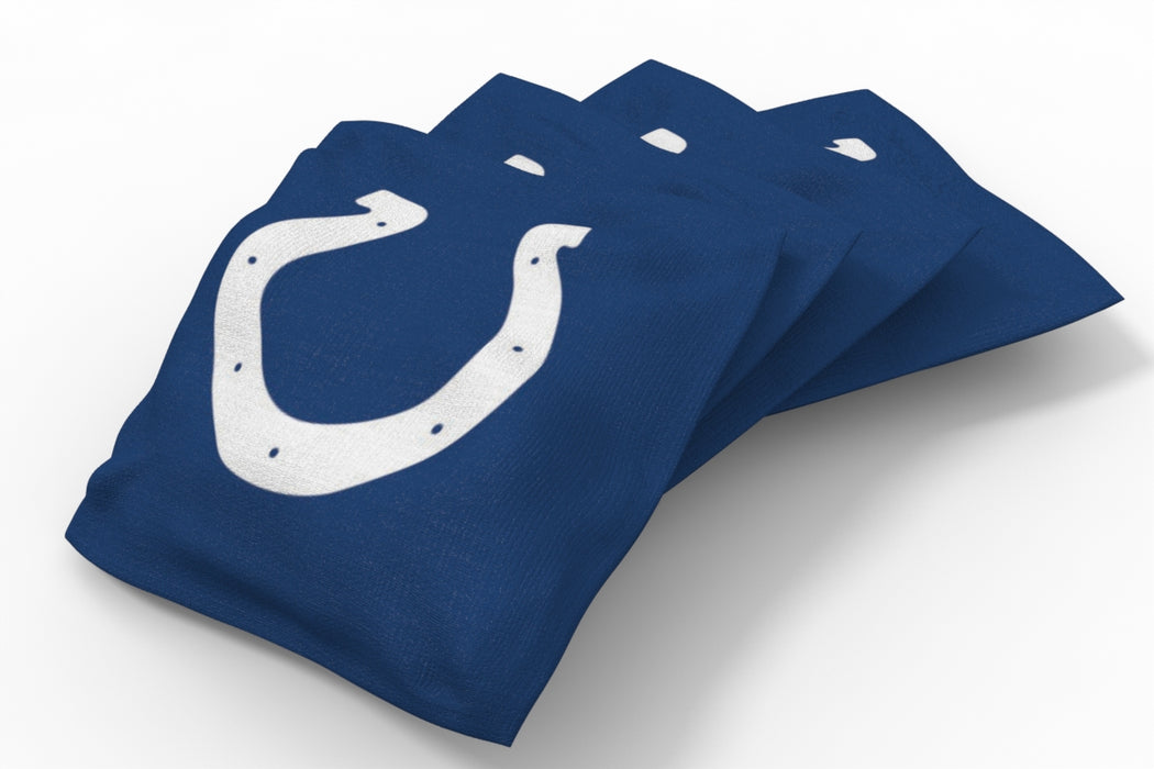 Indianapolis Colts 2x4 Cornhole Board Set Onyx Stained - Ripped