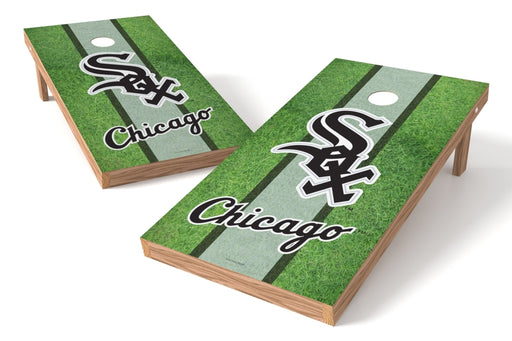 Chicago White Sox 2x4 Cornhole Board Set - Field