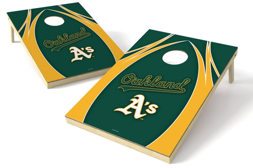 Oakland Athletics 2x3 Cornhole Board Set