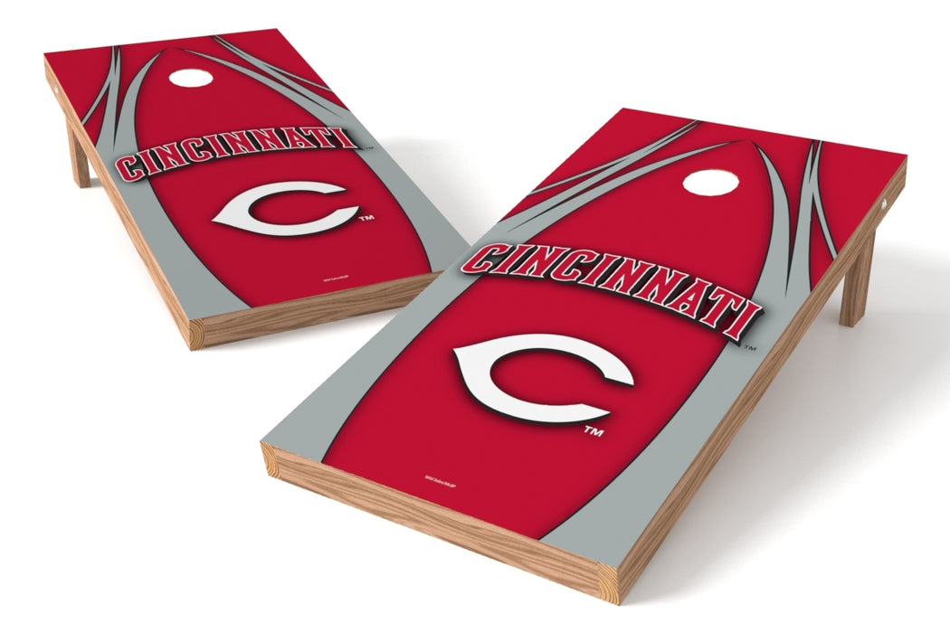 Cincinnati Reds 2x4 Cornhole Board Set - Edge