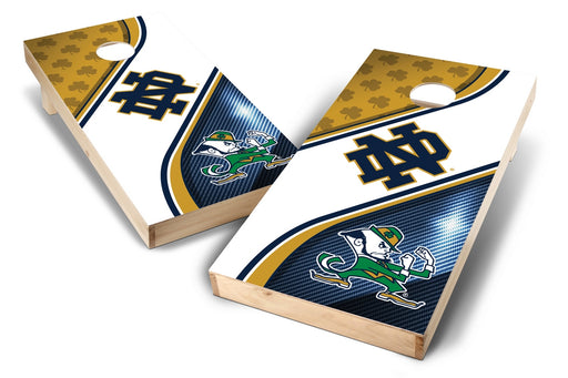 Notre Dame Fighting Irish 2x4 Cornhole Board Set - Swirl