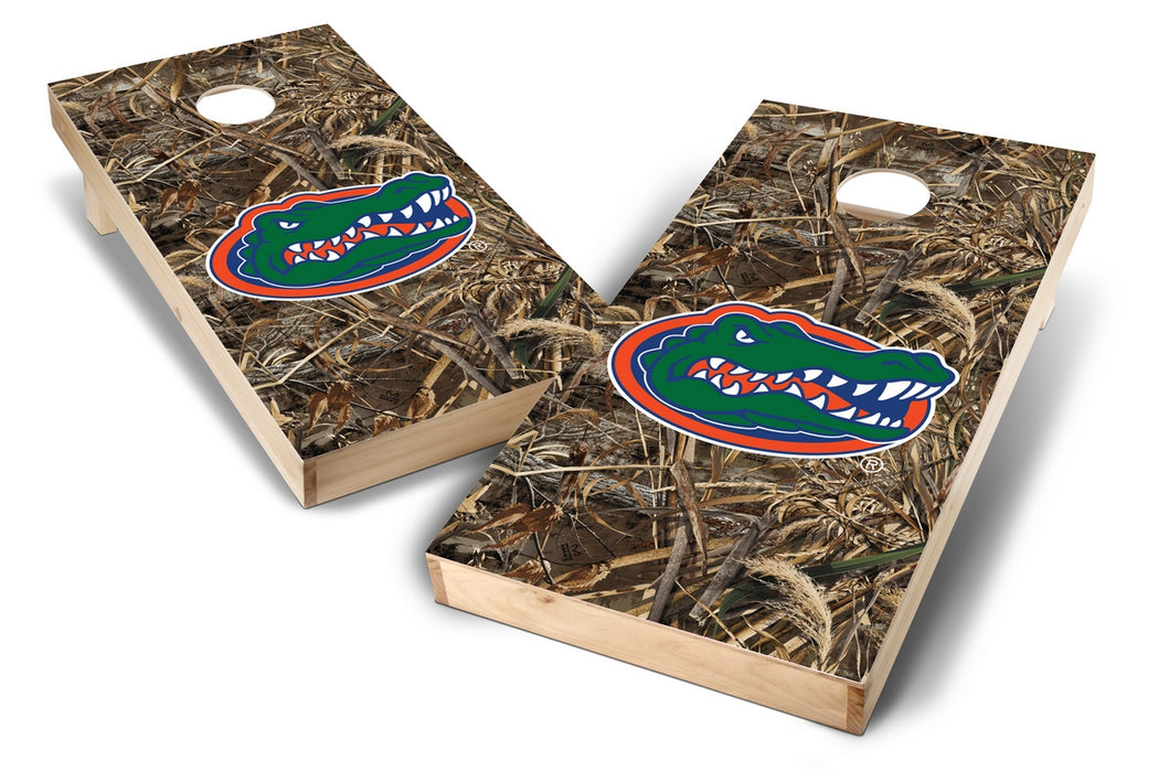 Florida Gators 2x4 Cornhole Board Set - Realtree Max-5 Camo