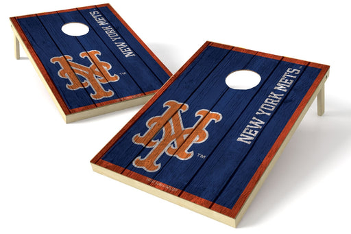 New York Mets 2x3 Cornhole Board Set - Vintage