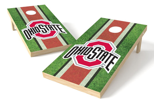 Ohio State Buckeyes 2x4 Cornhole Board Set - Field