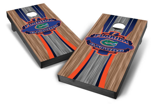 Florida Gators 2x4 Cornhole Board Set Onyx Stained - Wood