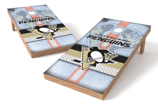 Pittsburgh Penguins 2x4 Cornhole Board Set - Rink