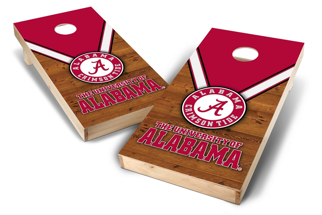 Alabama Crimson Tide 2x4 Cornhole Board Set - Uniform