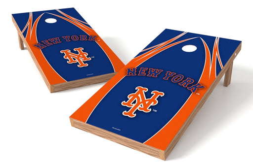 New York Mets 2x4 Cornhole Board Set - Edge