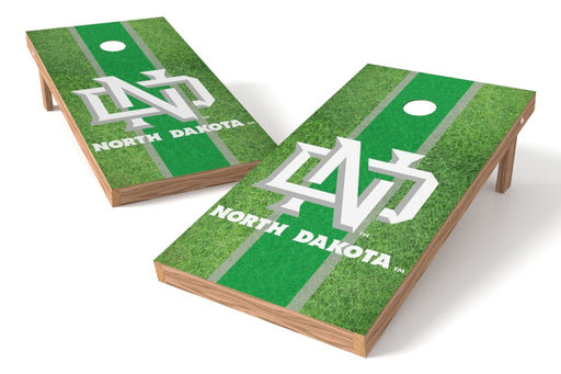 North Dakota 2x4 Cornhole Board Set - Field