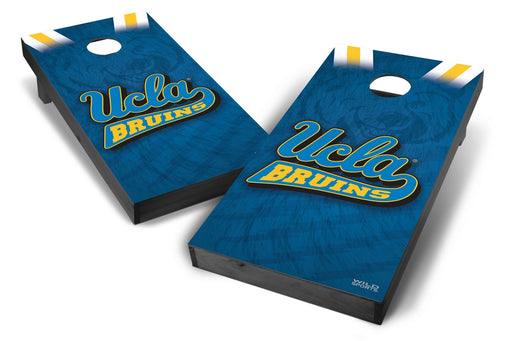 UCLA Bruins 2x4 Cornhole Board Set Onyx Stained - Wild