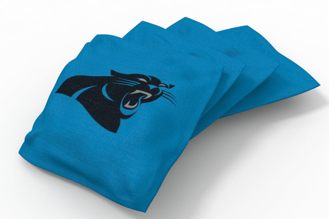 Carolina Panthers  Solid Bean Bags - 4pk