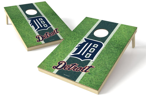 Detroit Tigers 2x3 Cornhole Board Set - Field