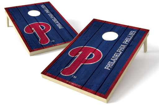 Philadelphia Phillies 2x3 Cornhole Board Set - Vintage