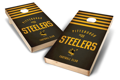Pittsburgh Steelers 2x4 Cornhole Board Set - Nostalgia