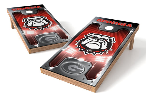 Georgia Bulldogs 2x4 Cornhole Board Set - Plate