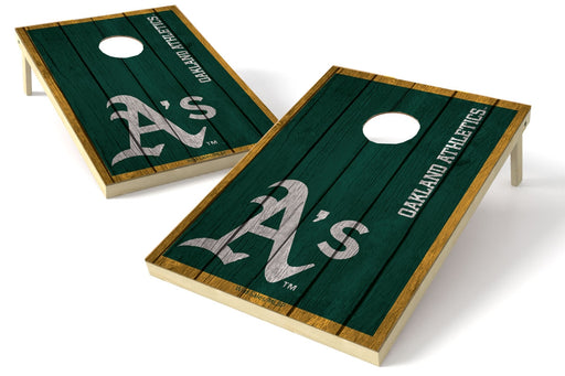 Oakland Athletics 2x3 Cornhole Board Set - Vintage
