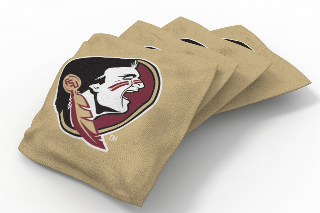 Florida State Seminoles 2x4 Cornhole Board Set Onyx Stained - Arch