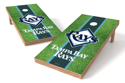Tampa Bay Rays 2x4 Cornhole Board Set - Field